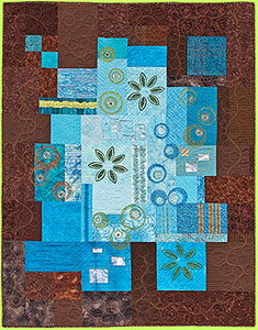 Quilt: Wait-a-Minute by Melody Crust