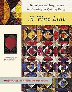 Book A FINE LINE by Melody Crust